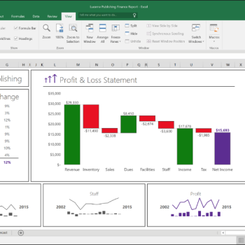 Microsoft Excel 2016 new features