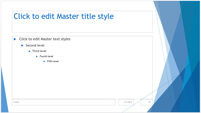 Slide Master: Creating & Editing the PowerPoint Slide Master