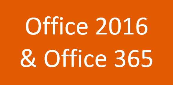 Microsoft Office 2016 new features