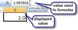 Microsoft Excel ROUND function