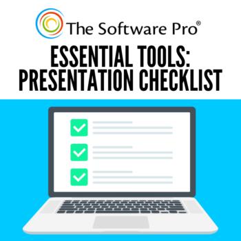 Presentation Checklist: Essential Items for a Presenter's