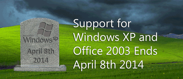 Windows XP support ending