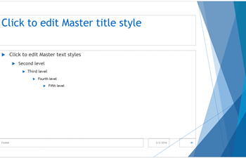 powerpoint slide master