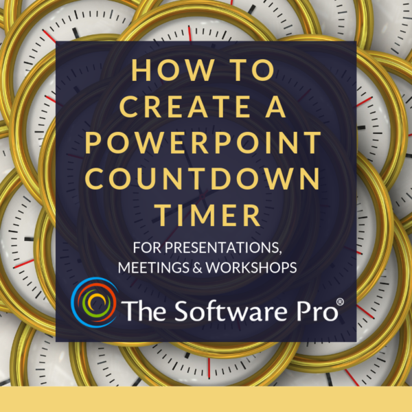 how to create a PowerPoint Countdown Timer; download a PowerPoint Countdown Timer