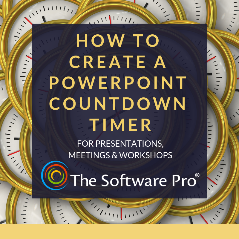 Create or Download a PowerPoint Countdown Timer