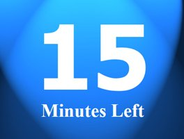 Countdown Timer Minutes Only Powerpoint Countdown Timer