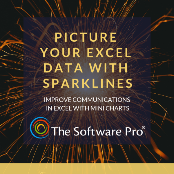 How to create mini charts in Microsoft Excel. Creating sparklines to show trends and changes to Excel data.