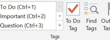 Microsoft OneNote Tips; adding tasks and tags