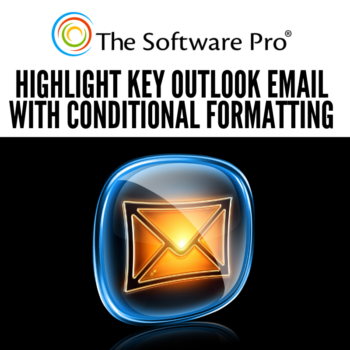 Outlook Conditional Formatting, how to format important email messages, Outlook tips