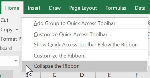 Easy Ways to Hide or Show the Microsoft Office Ribbon