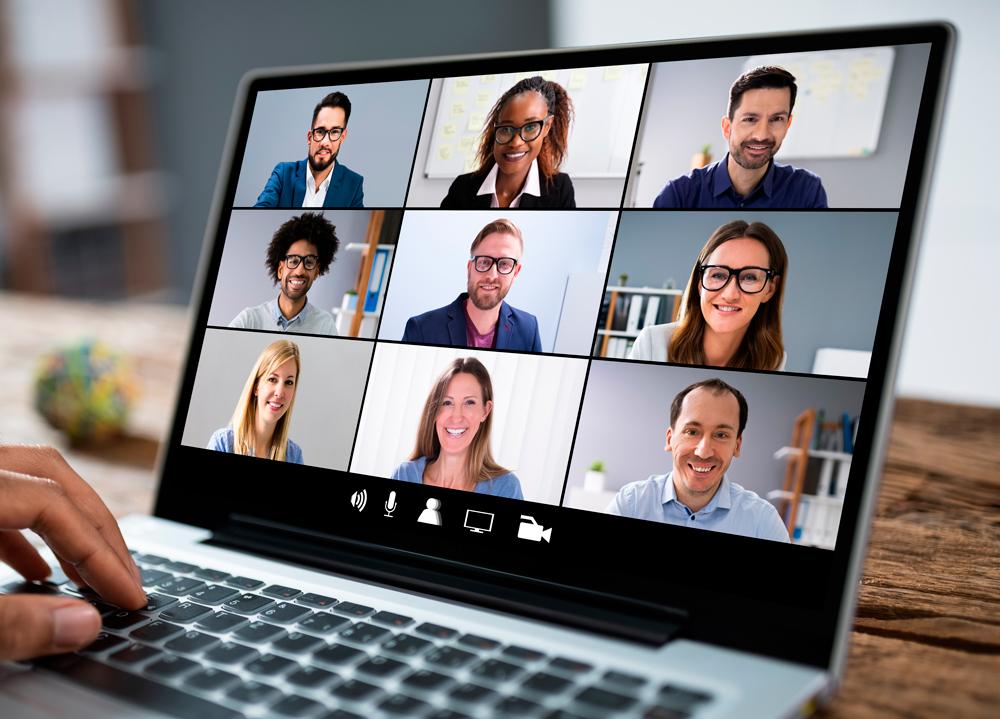 virtual meeting, virtual software training
