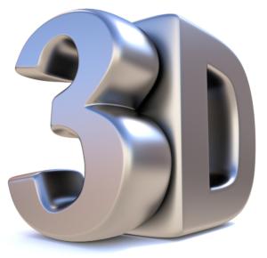 Image of the letters 3D, Excel 3D formula