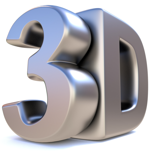 Excel 3D formula, image of the characters 3D, how to create 3D formulas in Microsoft Excel