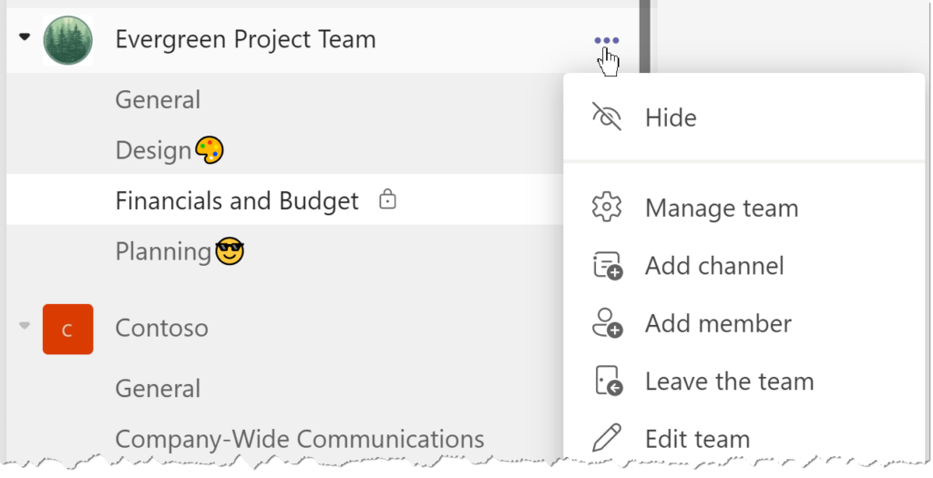 creating a private channel in Microsoft Teams, how to share confidential information in Teams, how to create private channels