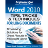 Microsoft Word 2010 Tips; Word 2010 tips and tricks